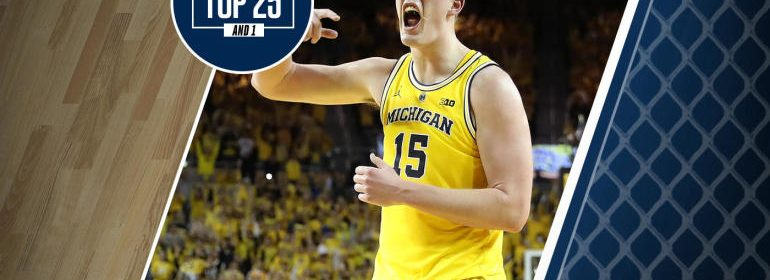 College Basketball Rankings Michigan Is No 7 In Top 25 And