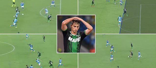 Sassuolo have FOUR goals disallowed during Serie A defeat to ...