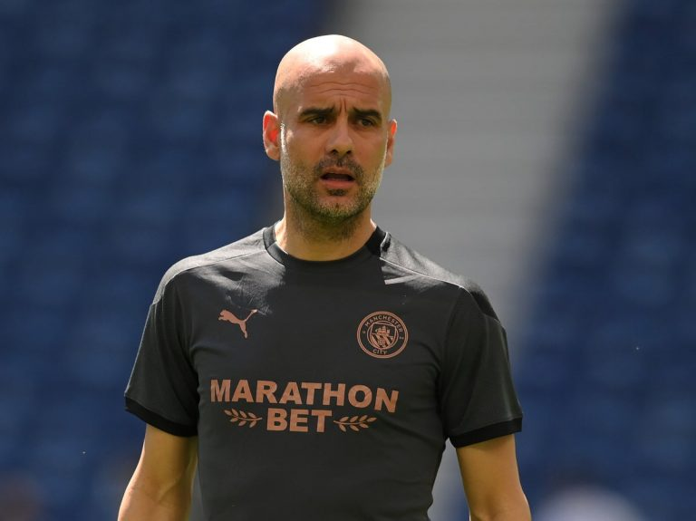 Pep Guardiola expects Man City players to be 'anxious and ...